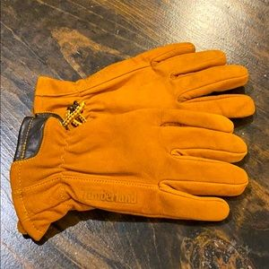 NEW Youth Leather Timberland Gloves